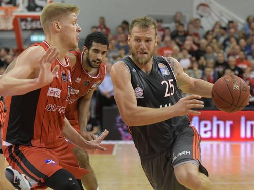 Anton Gavel und die Bayern unterlagen St. Petersburg