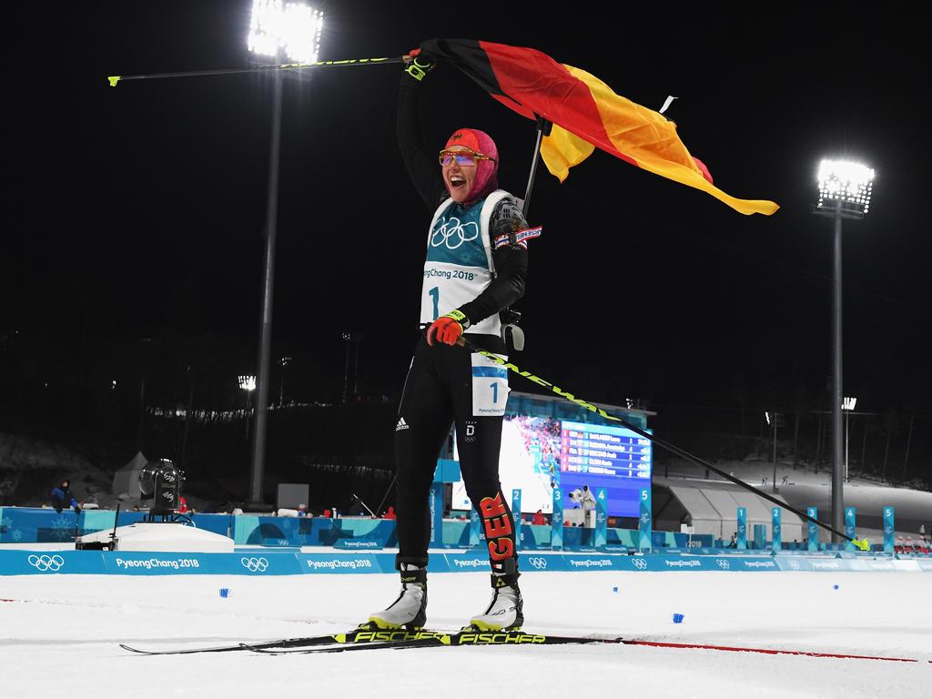 Das deutsche Biathlon-Team räumte die meisten Medaillen ab