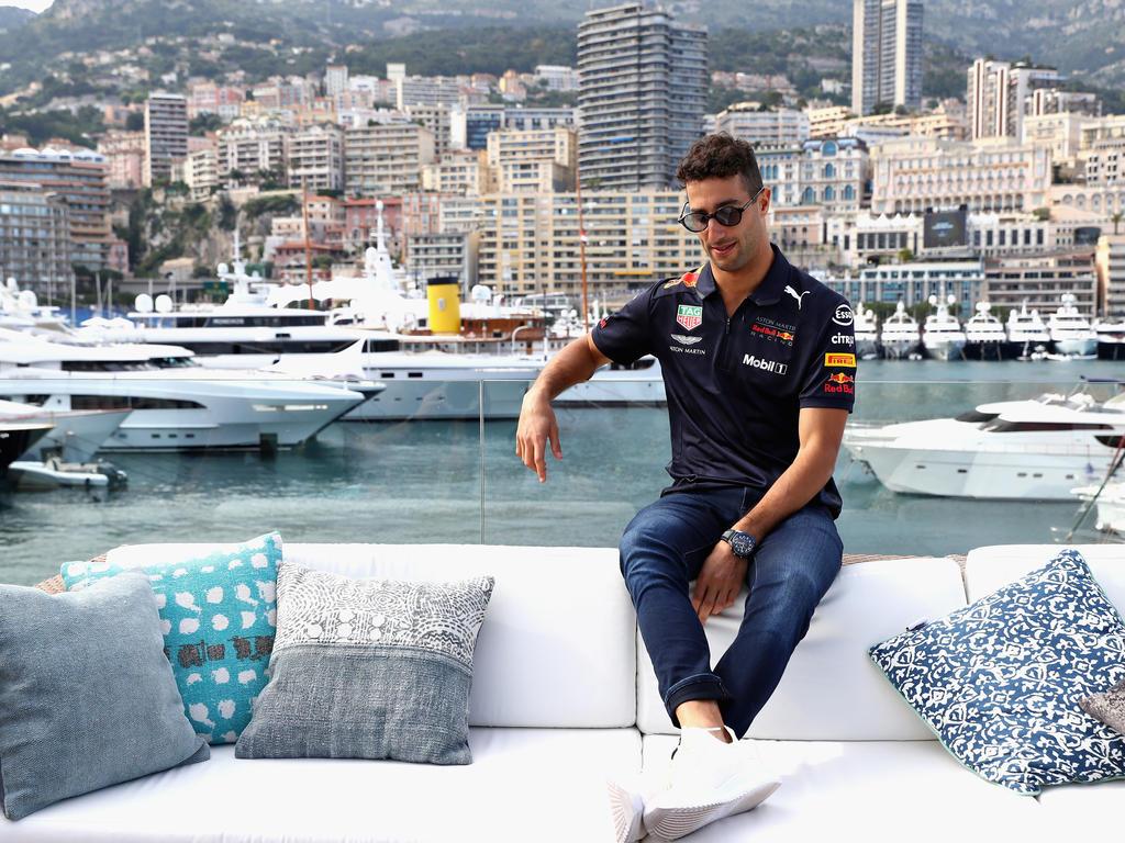 Daniel Ricciardo gilt als Favorit auf den Rennsieg in Monaco