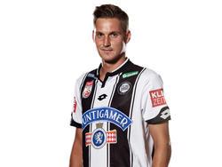 Thorsten Röcher unterschreibt beim FCI bis 2021 (Bildquelle: SK Sturm Graz/Arlene Joobes)