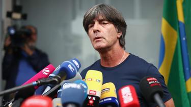 Joachim Löw reagiert am Freitag auf die Kritik an seinem Führungsstil