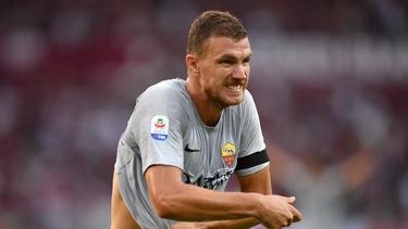 Edin Dzekos später Treffer rettet der AS Rom drei Punkte