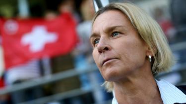 Mit der Schweiz im Playoff-Finale: Martina Voss-Tecklenburg