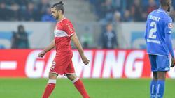 VfB-Profi Emiliano Insúa musste das Feld in Hoffenheim vorzeitig verlassen