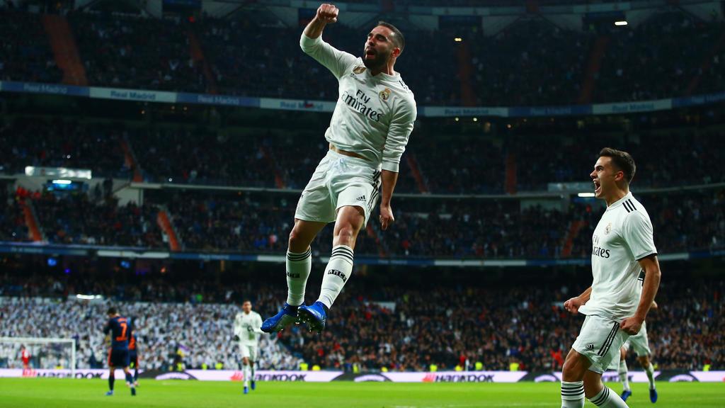 Real Madrid hat den Anschluss an die Spitzenplätze hergestellt