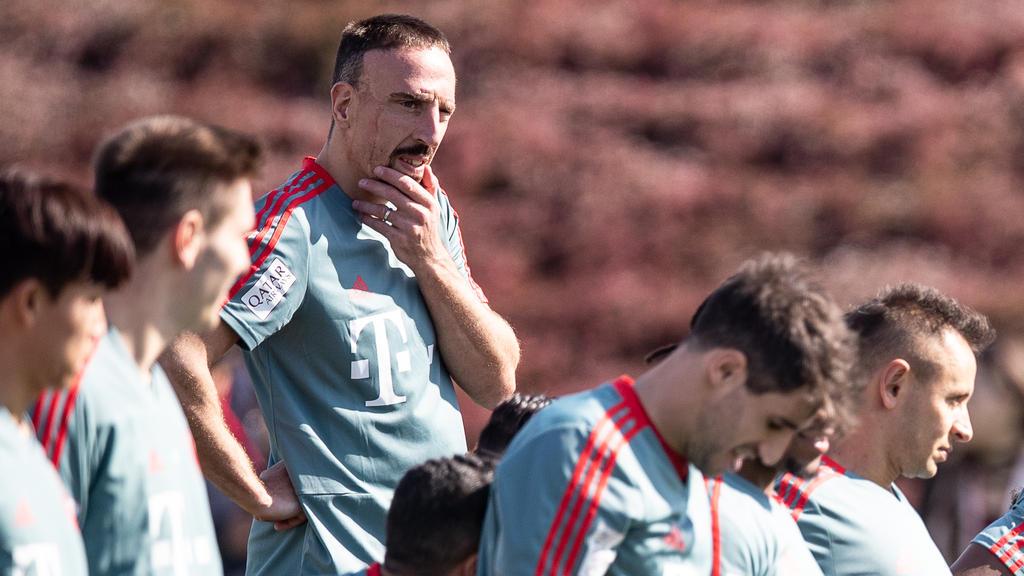 Franck Ribéry vom FC Bayern sorgt für den nächsten Skandal