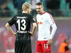 Hinteregger mit seinem Ex-Kollegen Ilsanker in der Bundesliga