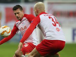 Die beiden Salzburg-Spieler Zlatko Junuzović und Marin Pongračić fehlen verletzt