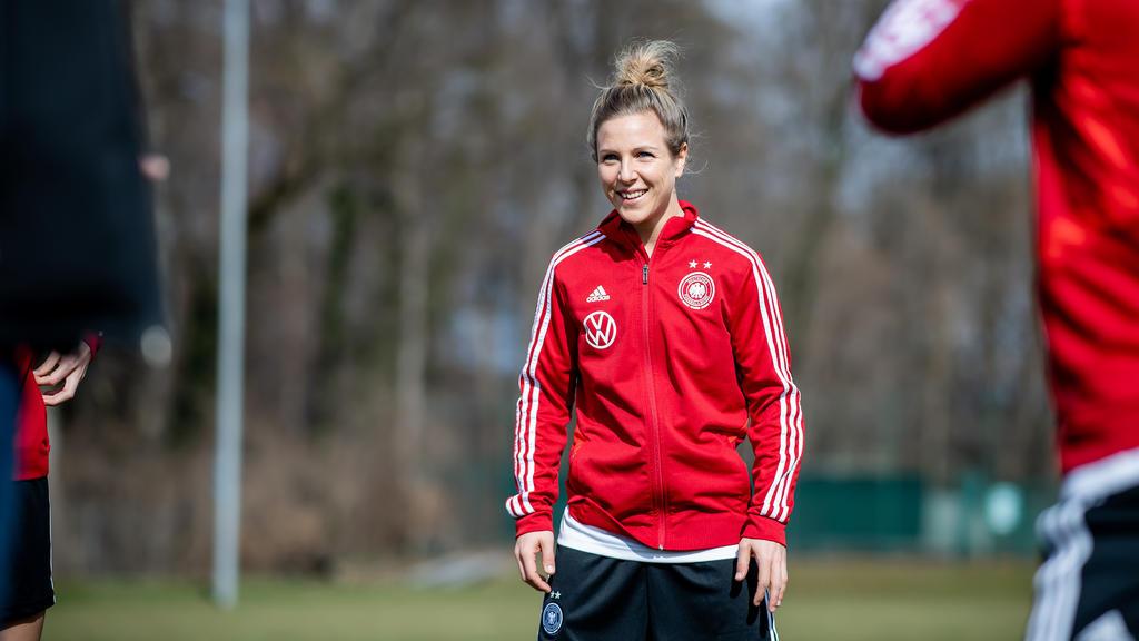 Das DFB-Team kann wieder auf Svenja Huth setzen