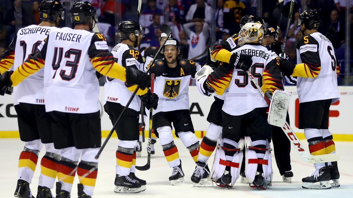 Das DEB-Team zitterte sich zum Sieg gegen die Slowakei