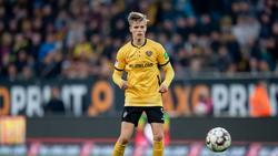 Dzenis Burnic ist derzeit vom BVB an Dynamo Dresden verliehen