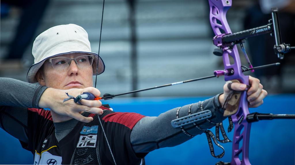 Lisa Unruh ist bei der Bogenschießen-WM am Start