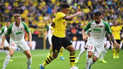 Jadon Sancho vom BVB zeigte eine starke Leistung zum Bundesliga-Auftakt
