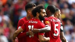 Der FC Liverpool drehte die Partie gegen Newcastle United