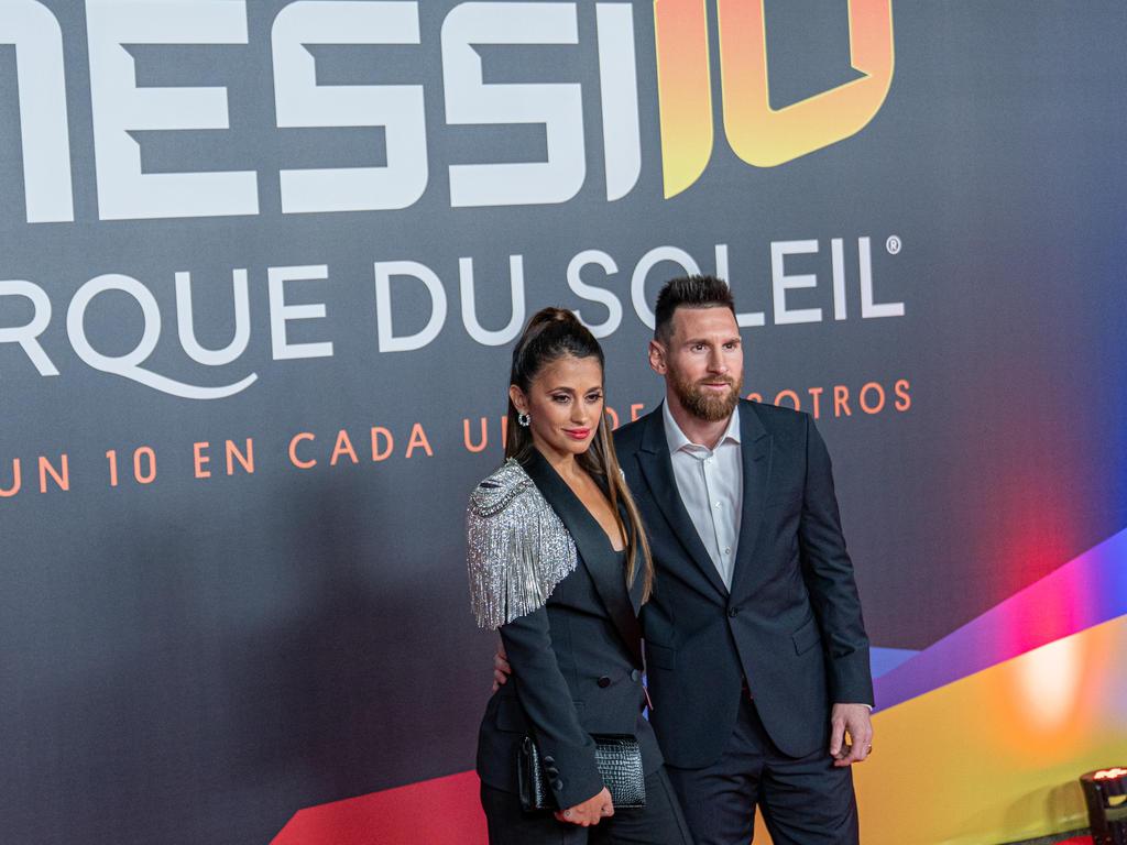 Die Messi-Zirkusshow feierte Premiere in Barcelona