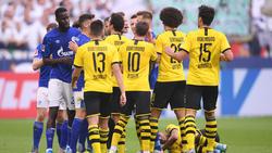 Zwischen Schalke 04 und dem BVB gab es einige Reibungspunkte
