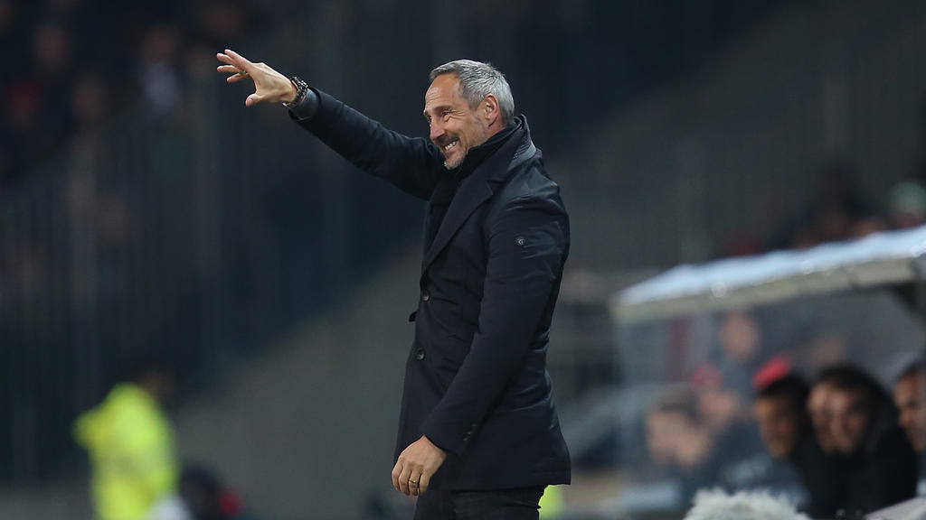 Adi Hütter hat mit Eintracht Frankfurt noch einiges vor