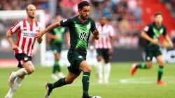 Ungewohntes Bild in dieser Saison: Yunus Malli auf dem Platz im Trikot des VfL Wolfsburg