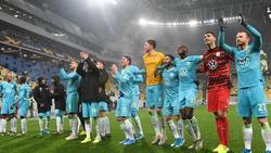 Der VfL Wolfsburg steht in der K.o.-Runde der Europa League