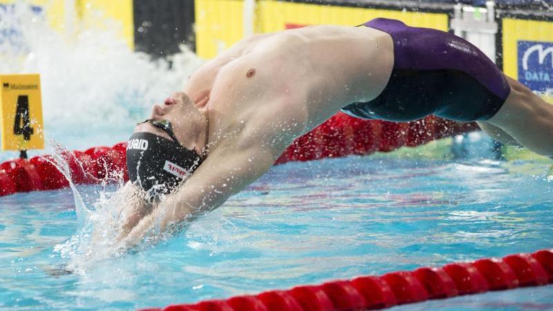 Christian Diener freut sich über den zweiten Platz seines Teams