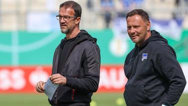 Bobic und Dárdai (re.) wollen Hertha BSC zum Erfolg führen
