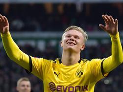Erling Håland fühlt sich in Dortmund pudelwohl