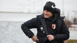 Heiko Herrlich hat mit dem FC Augsburg noch einiges vor
