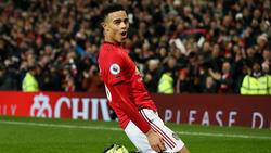 Mason Greenwood spielt für Manchester United
