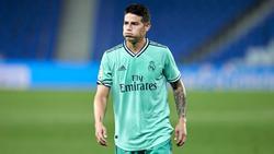 James Rodríguez hat wohl keine Zukunft bei Real Madrid