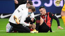 Filip Kostic verletzte sich schon in der ersten Halbzeit