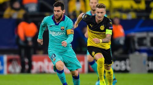 Lionel Messi und Marco Reus waren beide bereits Titelstars auf einem FIFA-Cover