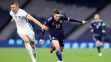 Die Slowakei hat Schottland knapp besiegt