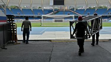 Ins Estadio Olimpico Pascual Guerrero sollen Zuschauer