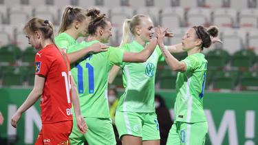 Der VfL Wolfsburg setzte sich im Achtelfinal-Hinspiel der Champions League durch