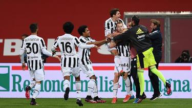 Juventus Turin hat den italienischen Pokal gewonnen