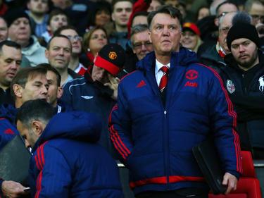 Sucht nach Erfolgserlebnissen: Manchester Uniteds Trainer Louis van Gaal