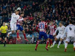 Raphaël Varane gab gegen Atlético sein Comeback