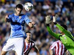 Gastón Pereira nutzt Paraguays Torwartfehler zum 2:0