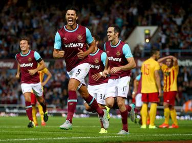James Tomkins marcó el único gol del partido en el minuto 90. (Foto: Getty)