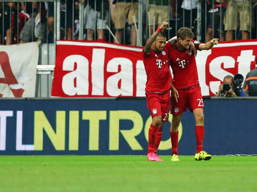 Hojbjerg dio el pase de gol a Vidal (48). (Foto: Getty)