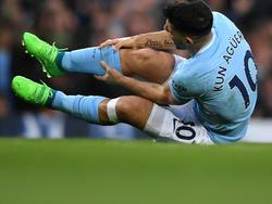 Sergio Agüero von Manchester City am Knie operiert