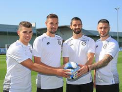 Ljubić, Lackner, Avlonitis und Janjatović starten mit Sturm in die Vorbereitung