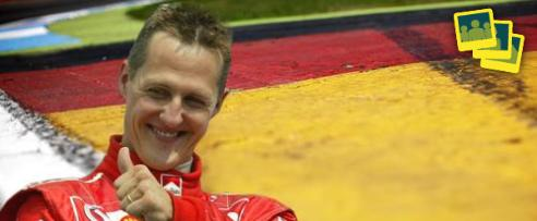 Schumi, Ausfallorgie, Stallregie: Alle Infos zum Deutschland GP in unserer Diashow!