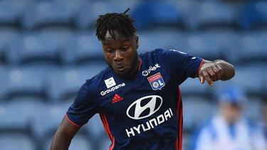 Maxwel Cornet spielt seit 2015 für Olympique Lyon