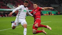 Der FC Augsburg setzte sich in einem packenden Pokal-Fight gegen Mainz durch