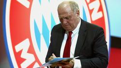 Bayern-Präsident Uli Hoeneß sprach nach dem Champions-League-Spiel Klartext