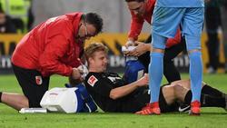 Der FC Augsburg muss im letzten Spiel eventuell auf Martin Hinteregger verzichten