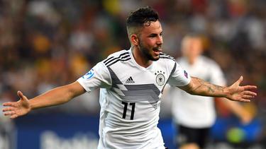 Steht nach seinen Toren im EM-Spiel der deutschen U21 gegen Dänemark im Fokus: Marco Richter