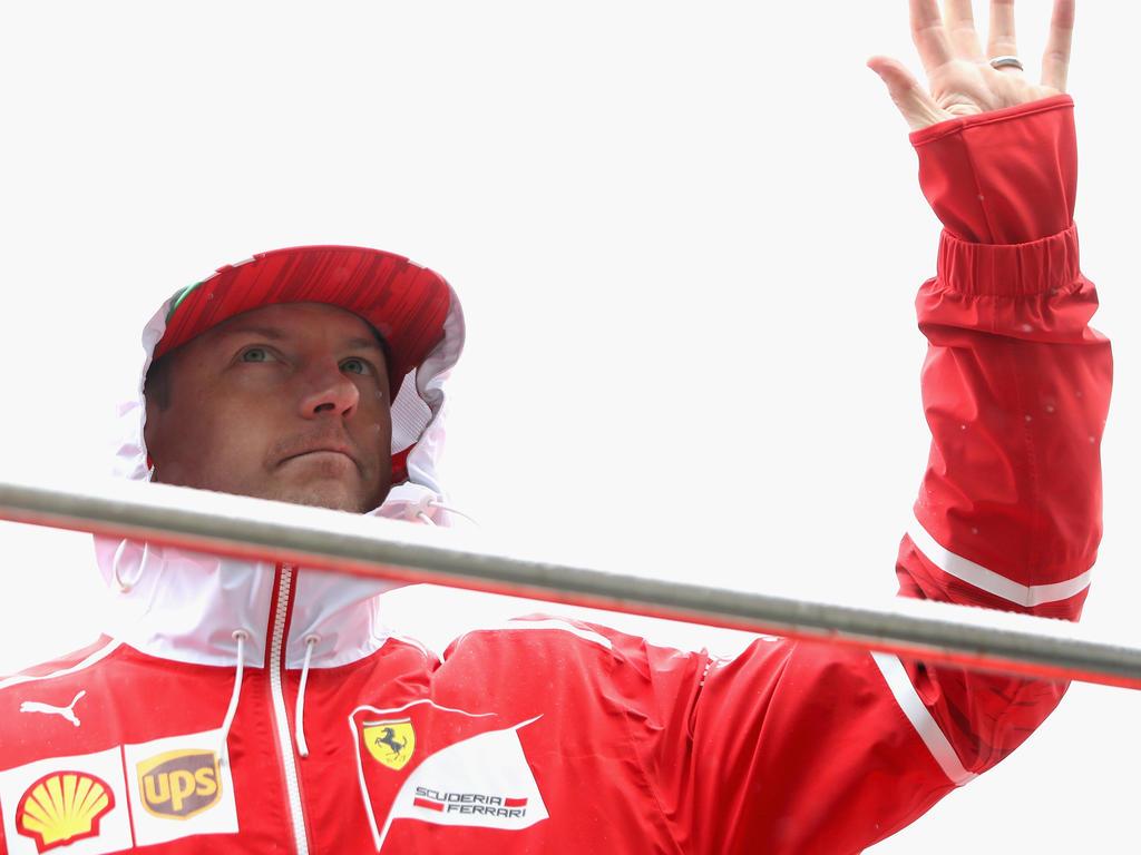 Kimi Räikkönens Leistung sorgt bei Ferrari nicht gerade für Sonnenschein