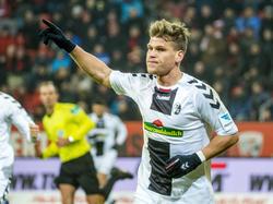 Florian Niederlechner war seit Januar 2016 von Mainz ausgeliehen